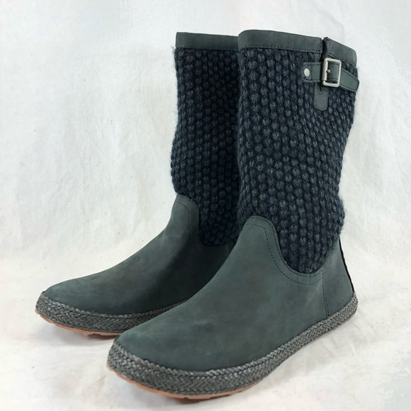 Ugg Shoes Wool Knitted Winter Gum Sole Boots Poshmark